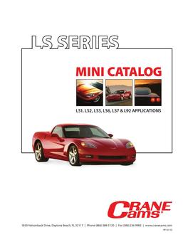 LS Series Mini Catalog 2011