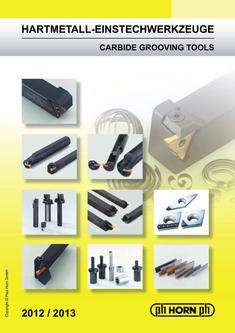 Carbide Grooving Tools 2012/2013
