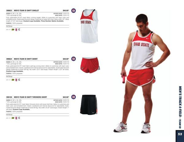 Nike Id Track Uniforms International College Of