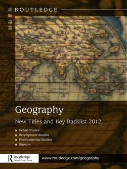 Geography New Titles and Key Backlist 2012