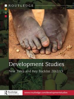 Development Studies New Titles and Key Backlist 2012-2013