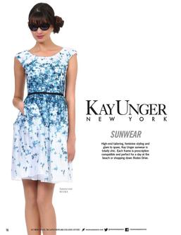 Kay Unger Sun Glasses 2013