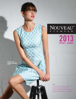 Nouveau Eyewear Catalog January 2013