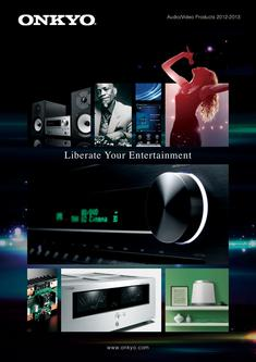 2012-2013 Audio/Video Products