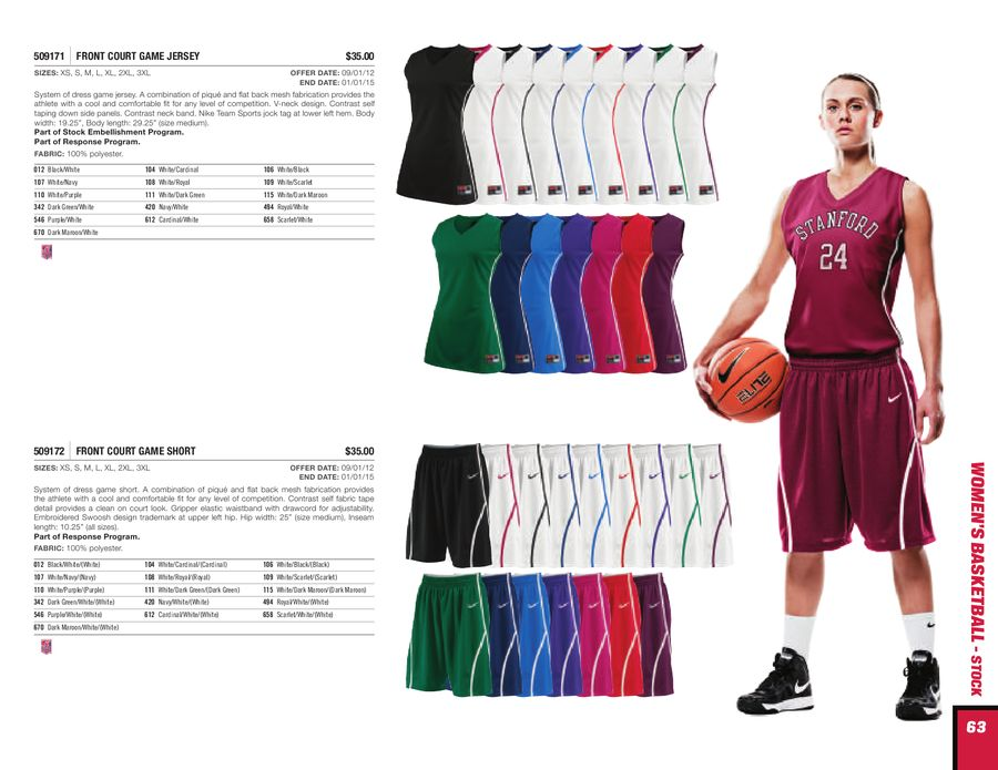 new concept 93d4a bf1a5 Womens Basketball 2013 by Nike