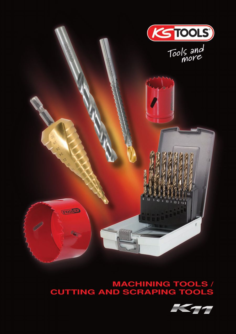 Machining / Cutting and scraping tools K11 by KS Tools