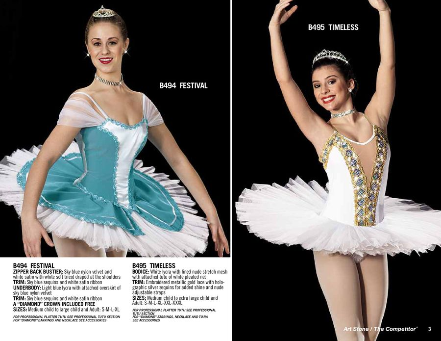 ballet costumes 2012 2013 by art stone the competitor