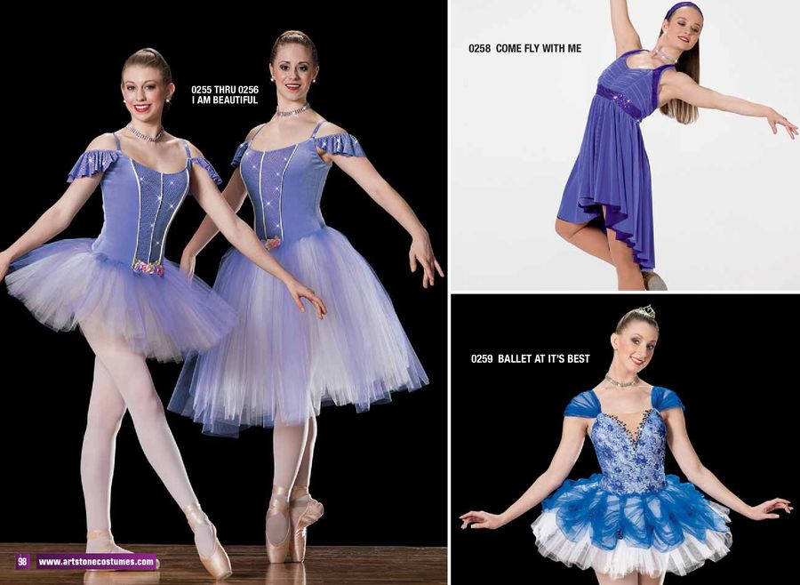 ballet lyrical costumes 2012 2013 by art stone the competitor