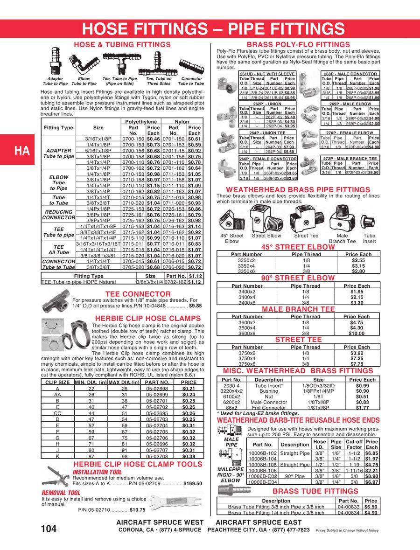 """Anodized Aluminum Fit MS27404-6D Aeroquip 306-6,18/"""" Low Pressure Hose,w//471-6D"""