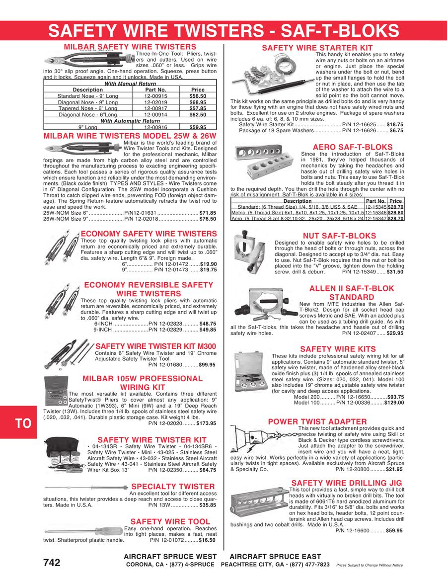 Safety Wiring Diagram Aircraft Spruce Page 2 And Wire