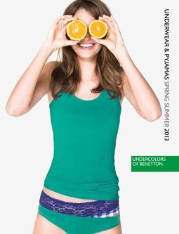 Spring Summer 2013 Undercolors of Benetton Underwear