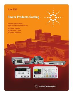 Power Products 2012