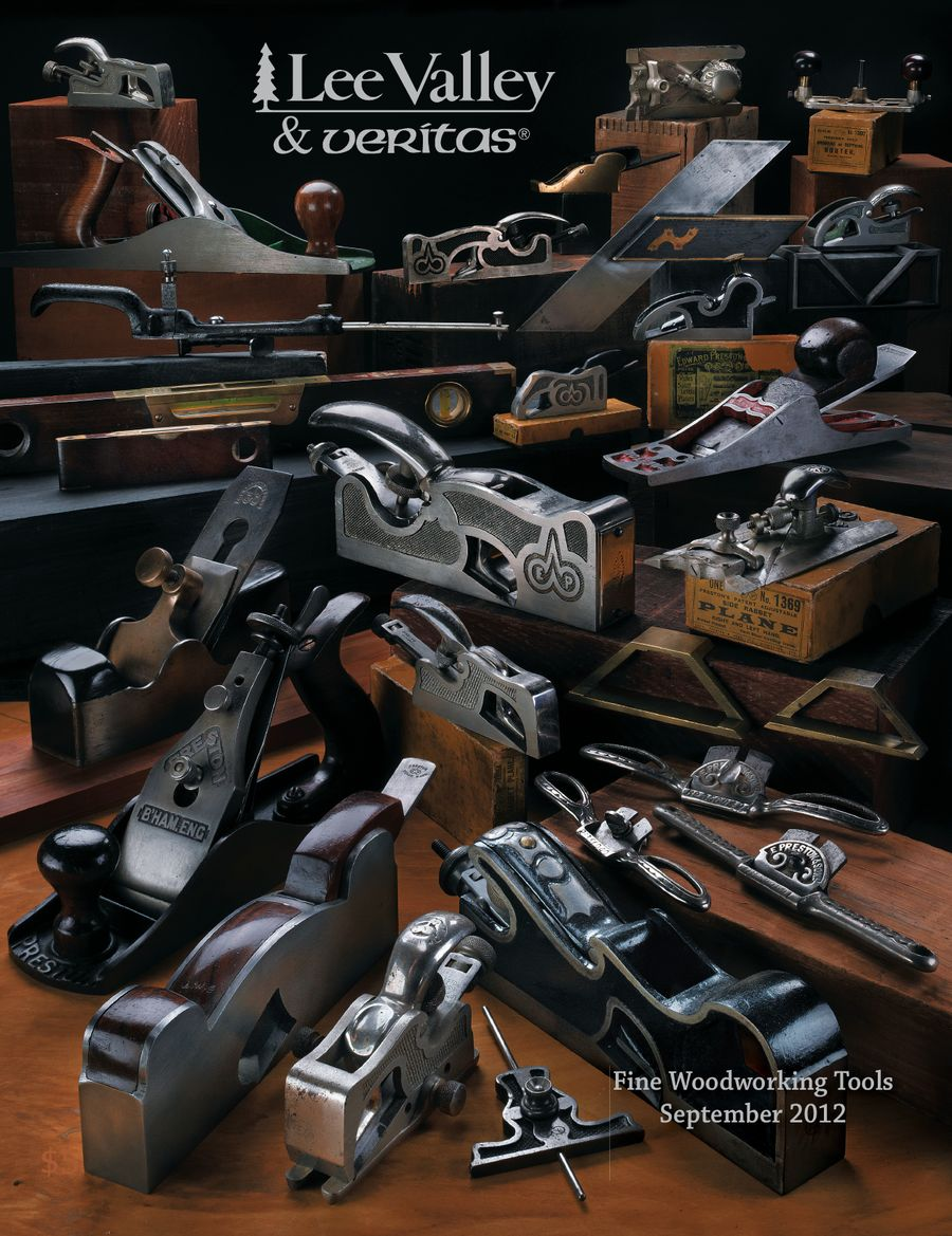 Woodworking Tools 2012 2013 Annual Catalog By Lee Valley Tools