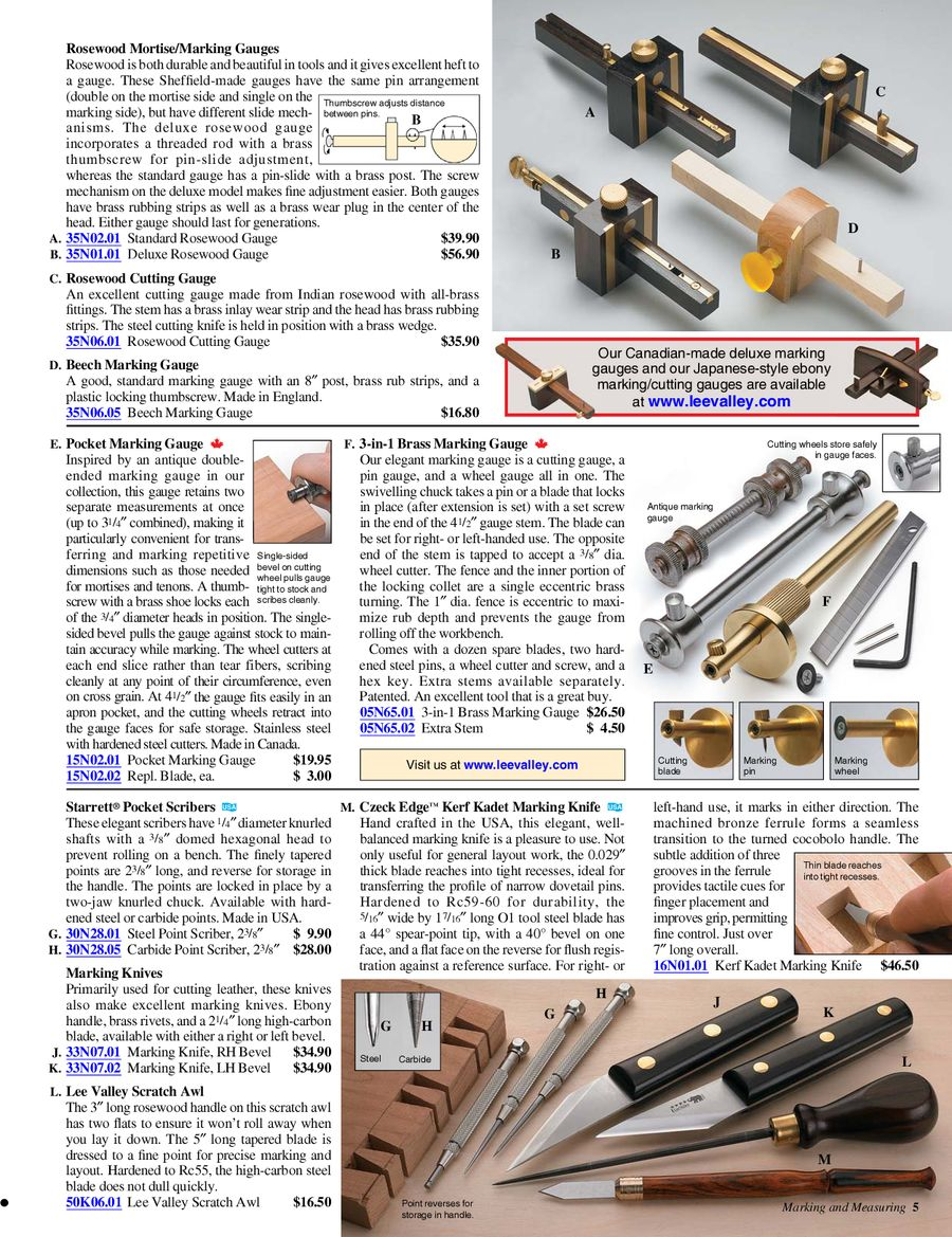Page 5 Of Woodworking Tools 2012 2013 Annual Catalog