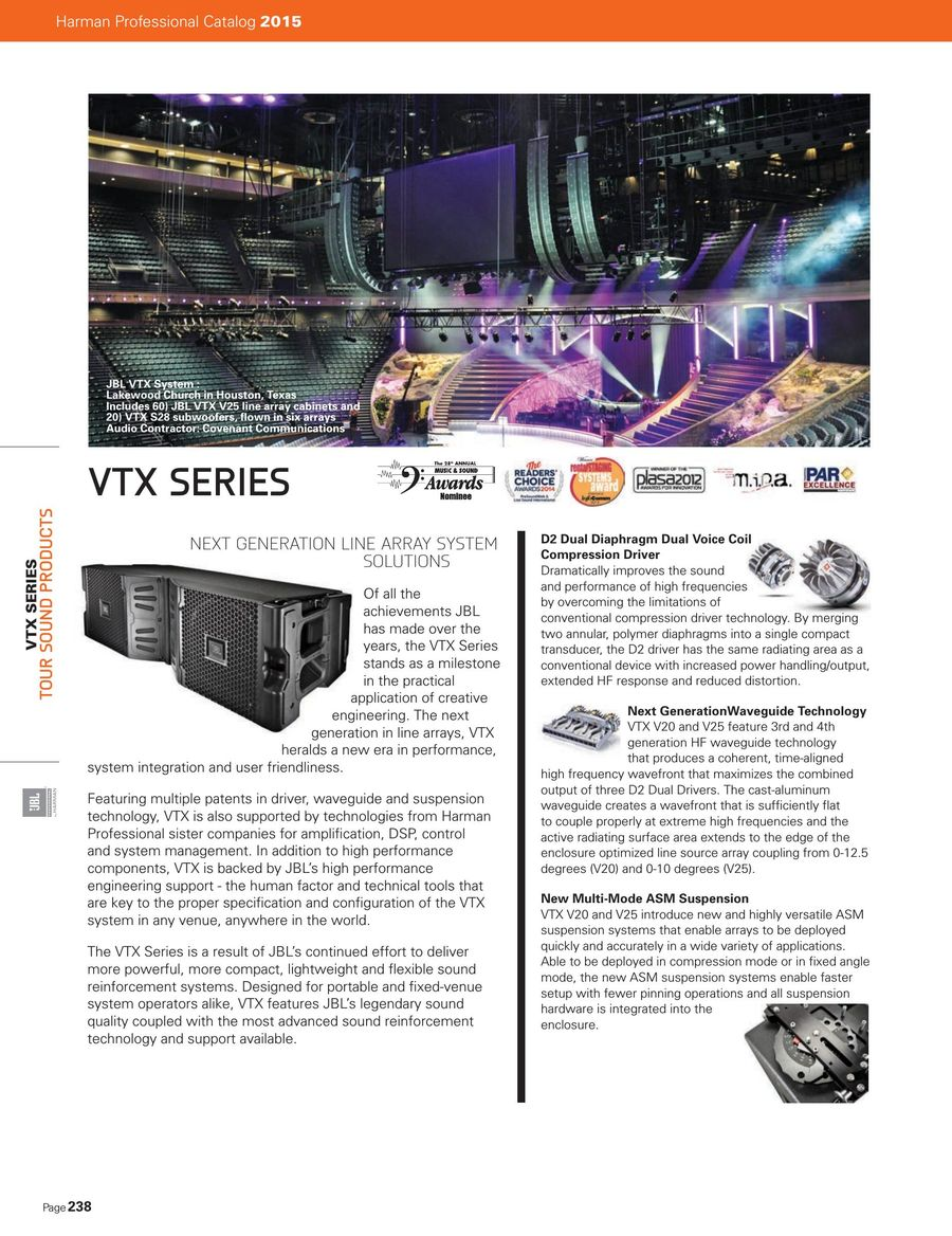 Tour Sound 2015 by JBL Professional