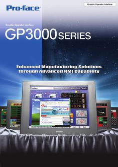 Graphic Operator Interfaces GP3000 Series