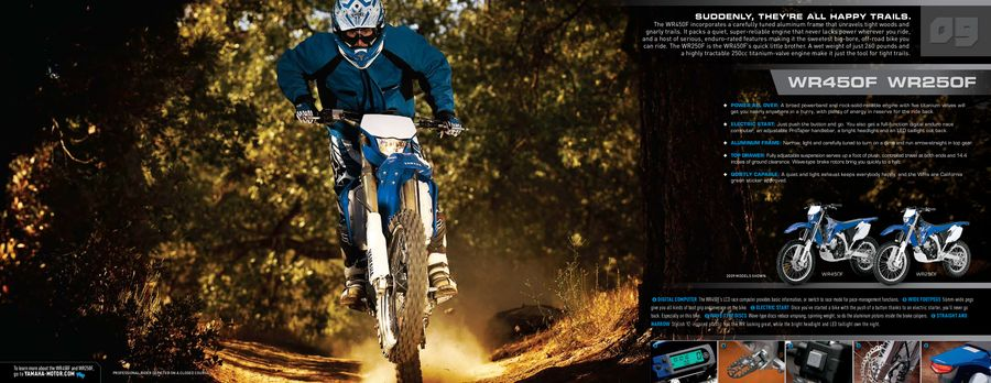 2010 MX, Off-Road & Dual-Purpose Motorcycles by Yamaha Motor USA