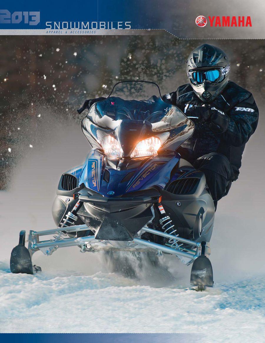 2013 Snowmobile Accessories & Apparel by Yamaha Motor USA