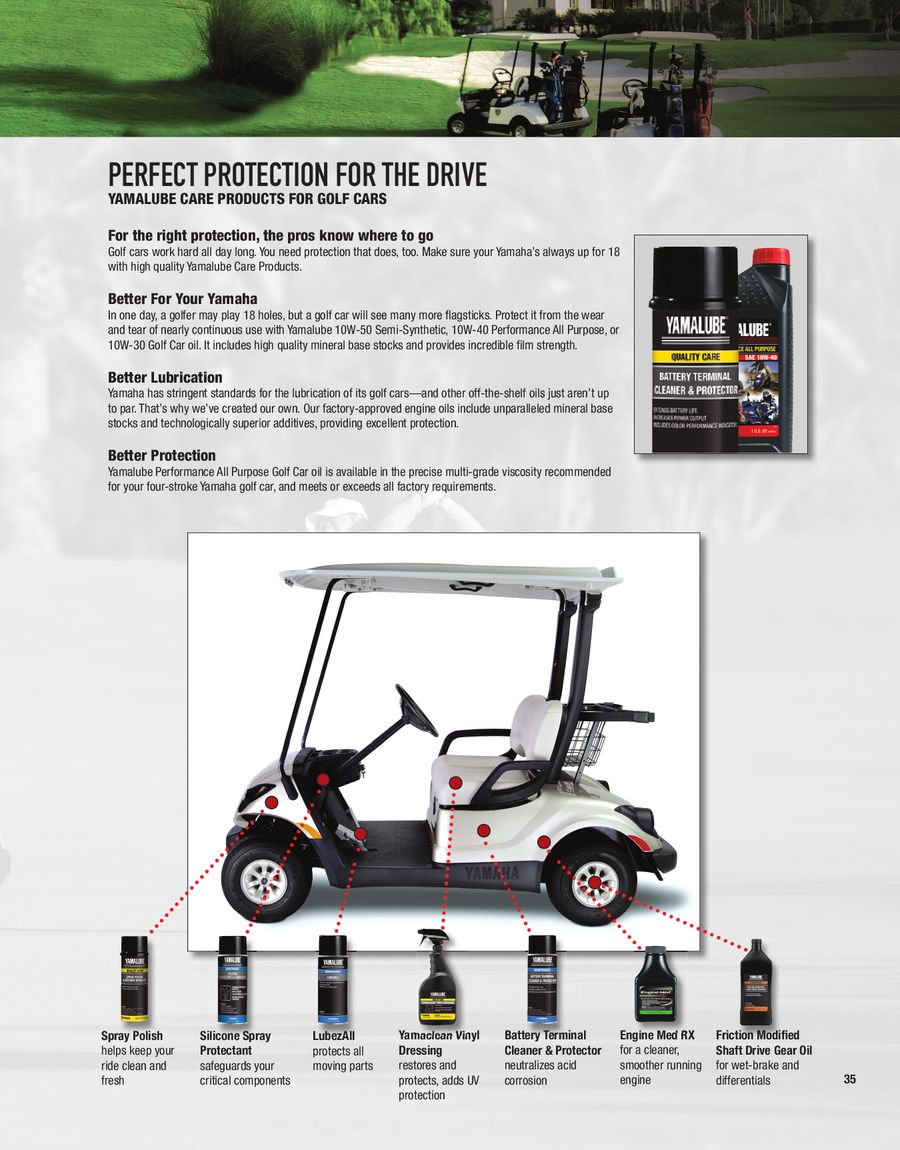 Page 34 of 2013 Golf Car Accessories & Apparel Catalog