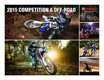 2015 Competition & Off-Road Motorcycles