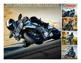 2015 Supersport/Street/Scooter Brochure