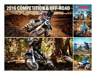 2016 Competition & Off-Road Motorcycles