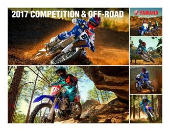 2017 Competition & Off-Road Motorcycles