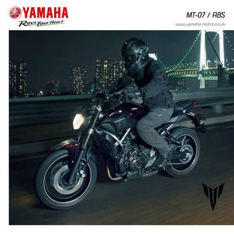 Yamaha 2014 MT-07 / ABS