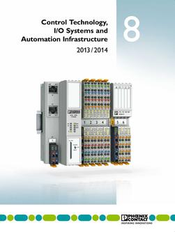 Control technology, I/O systems and infrastructure 2013/2014