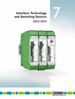 Interface technology and switching devices 2013/2014