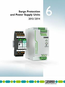 Surge protection and power supply units 2013/2014