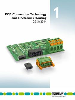 PCB connection technology and electronic housings 2013/2014