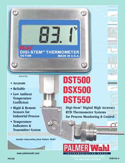 Wahl DST500 Digital Thermometer