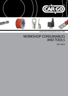 Workshop Consumables and Tools 2012