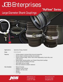 Large Diameter Shank Couplings