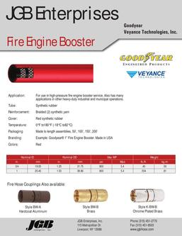 Fire Engine Booster