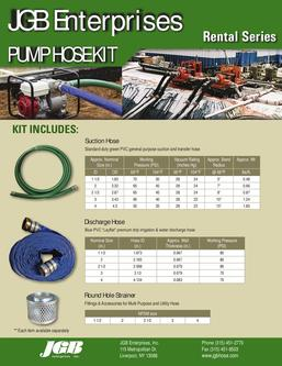 Pump Hose Kit