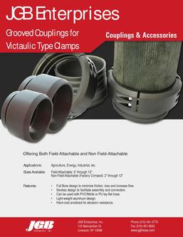 Grooved Couplings for Victaulic Type Clamps