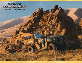 2004 RANGER Brochure Off-Road Utility Vehicles