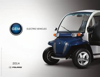 2014 GEM Electric Vehicles