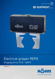 Electrical gripper REPG
