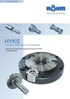 Power-operated mandrel HYKS
