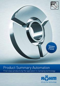 Product Summary Automation Technology