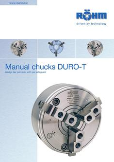 Manual Chucks DURO-T