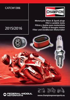 Champion Motorcycle filters & spark plugs 2015/2016