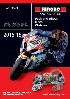 Motorcycle Pads and Shoes 2015-2016
