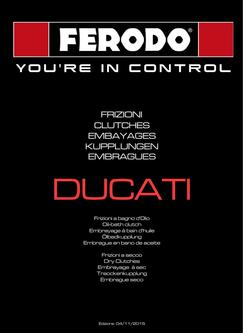 2015 Ducati Standard & Upgrade Kits