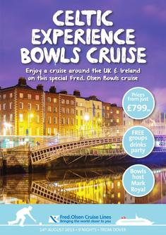 Celtic Experience Bowls Cruise 2013