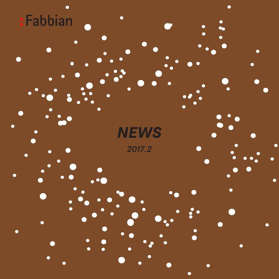 News 2017.2 by Fabbian Illuminazione