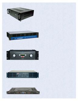 AV Presentation Power Amps 2007